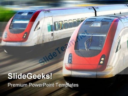 Fast speed trains transportation powerpoint background and template fast speed trains transportation powerpoint background and template 1210 powerpoint templates themes toneelgroepblik Image collections