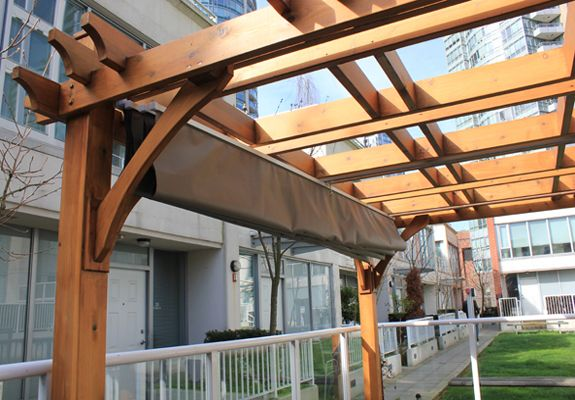 10 X12 Breeze Pergola With Retractable Canopy Pergola Canopy Diy Retractable Pergola Backyard Pergola