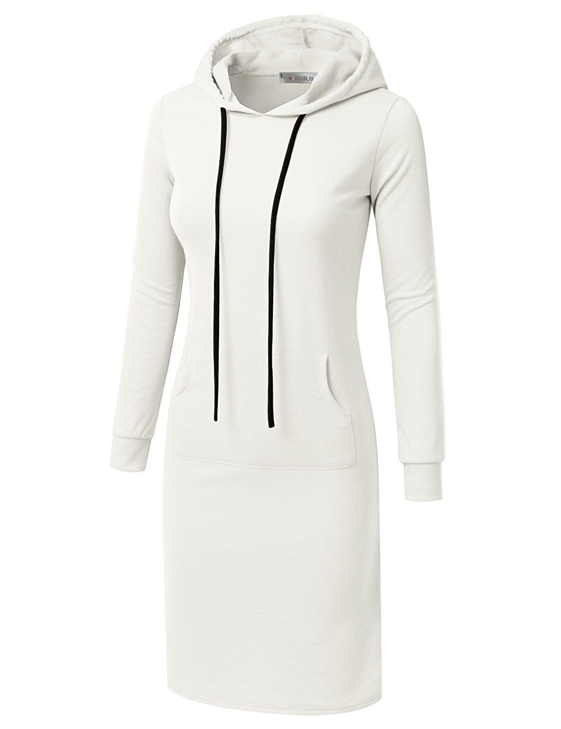 Doublju Womens Long Sleeve Hoodie Midi Dress Made In Usa At Amazon Women S Clothing Store Plus Clothing Clothes Womens Dresses [ 1500 x 1154 Pixel ]