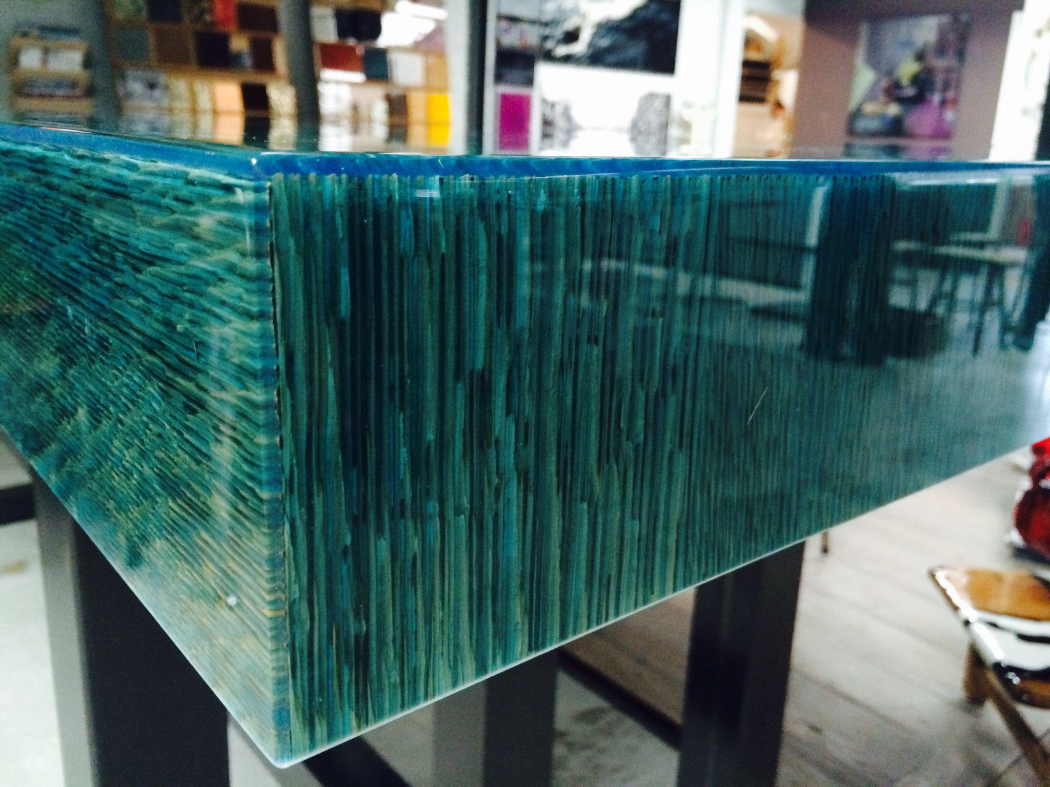Side View Reading Table Ccoating Ocean Blue Www Genesispd