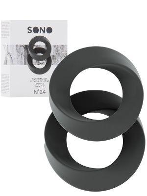 Cockring Set grey - SONO No.24