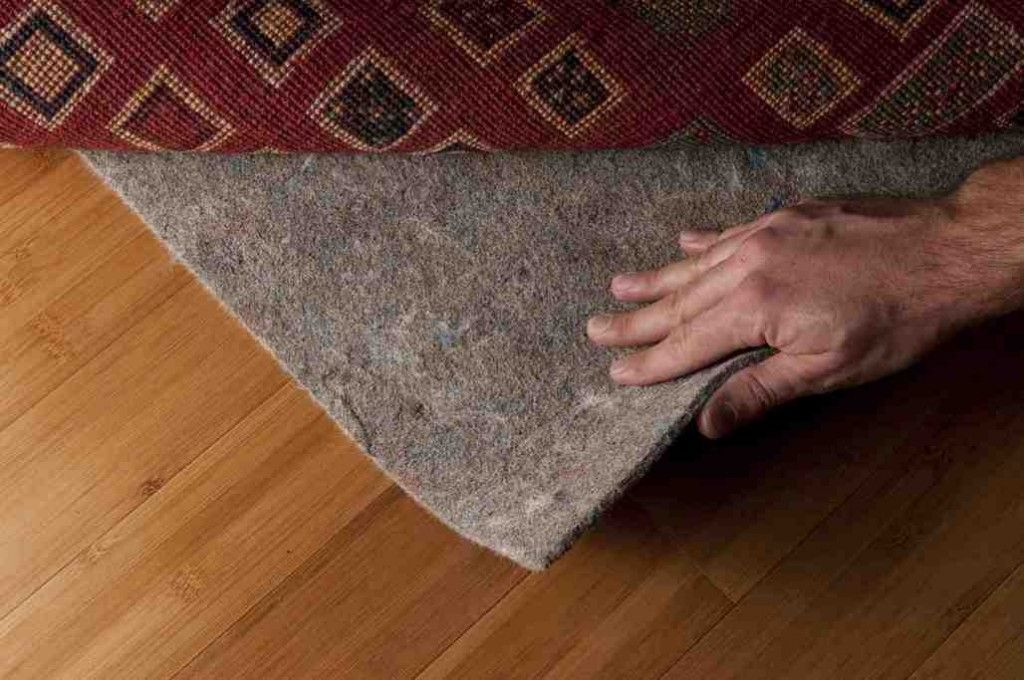 Padded Area Rug Rubber Rugs Carpet Padding Teak Flooring Hardwood Floors Custom