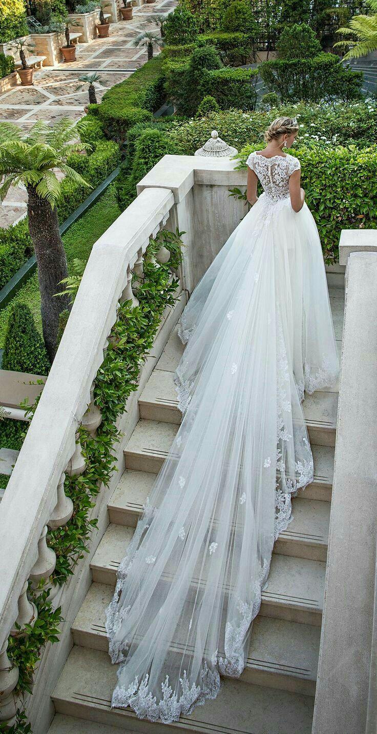 Pin de Rene Mitchell en Bridal | Pinterest | Boda, Vestidos de novia ...