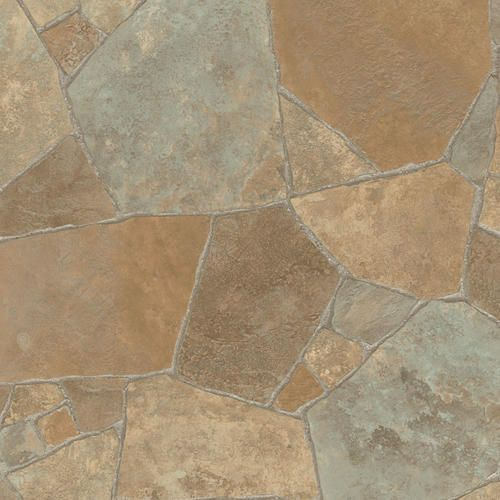 Ivc Impact Sheet Vinyl Flooring Flagstone Terra Wide Menards