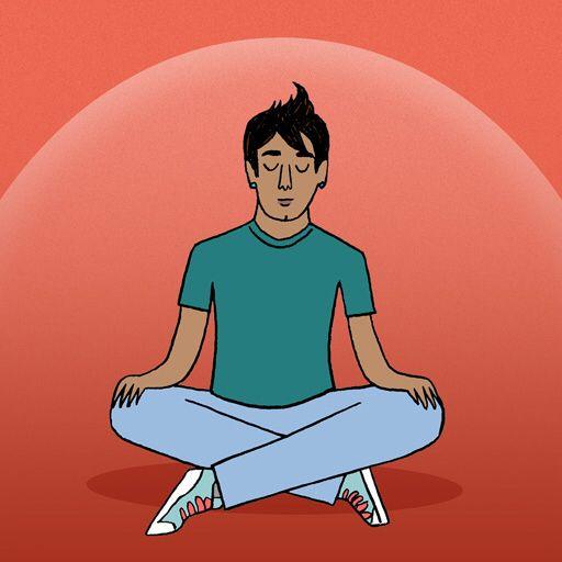 I just completed the 'Self-Meditation Timer' meditation ...