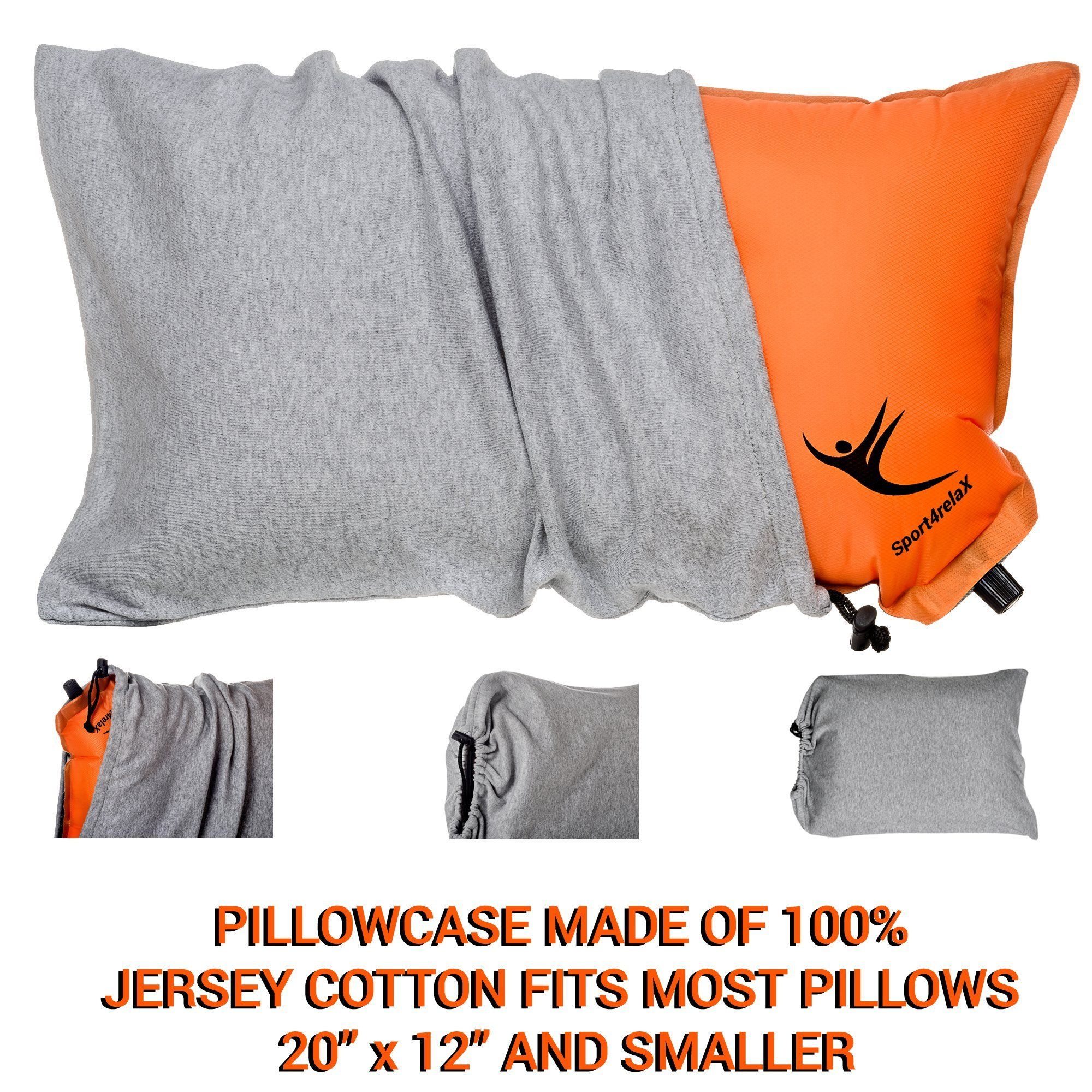 inflatable camping pillows