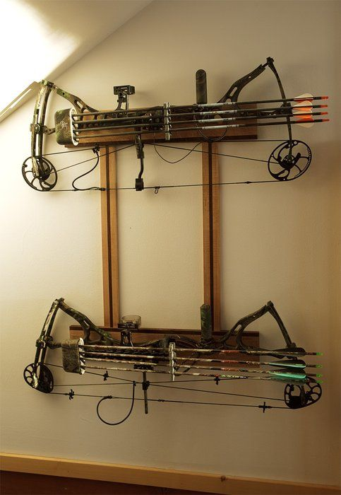 Bow Wall Rack Plans Google Search Archery Bows Bow