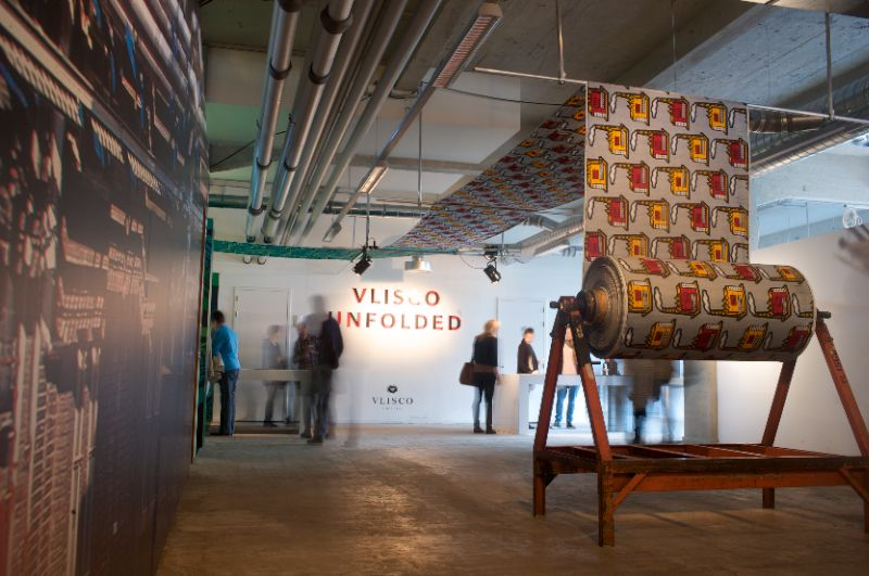 Press Opening Vlisco Unfolded Exposition at the Dutch