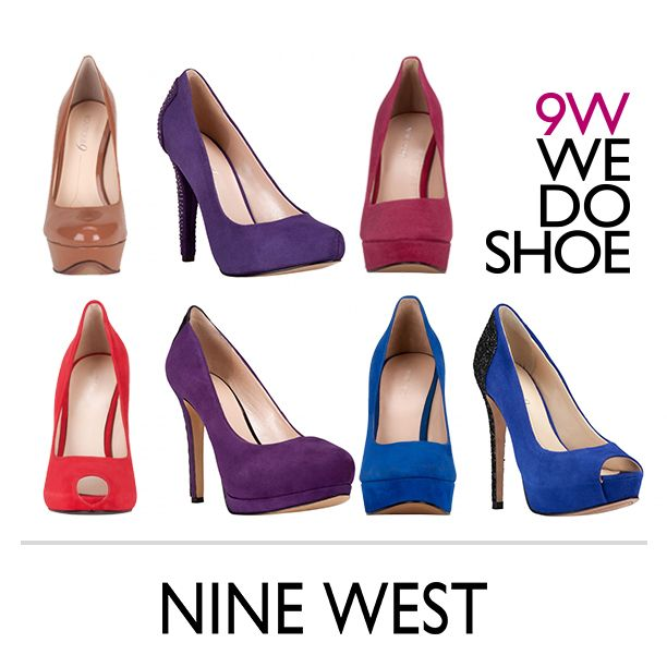 ¡Llenate de color! NINE WEST PUMPS - Zapatos Nine West México