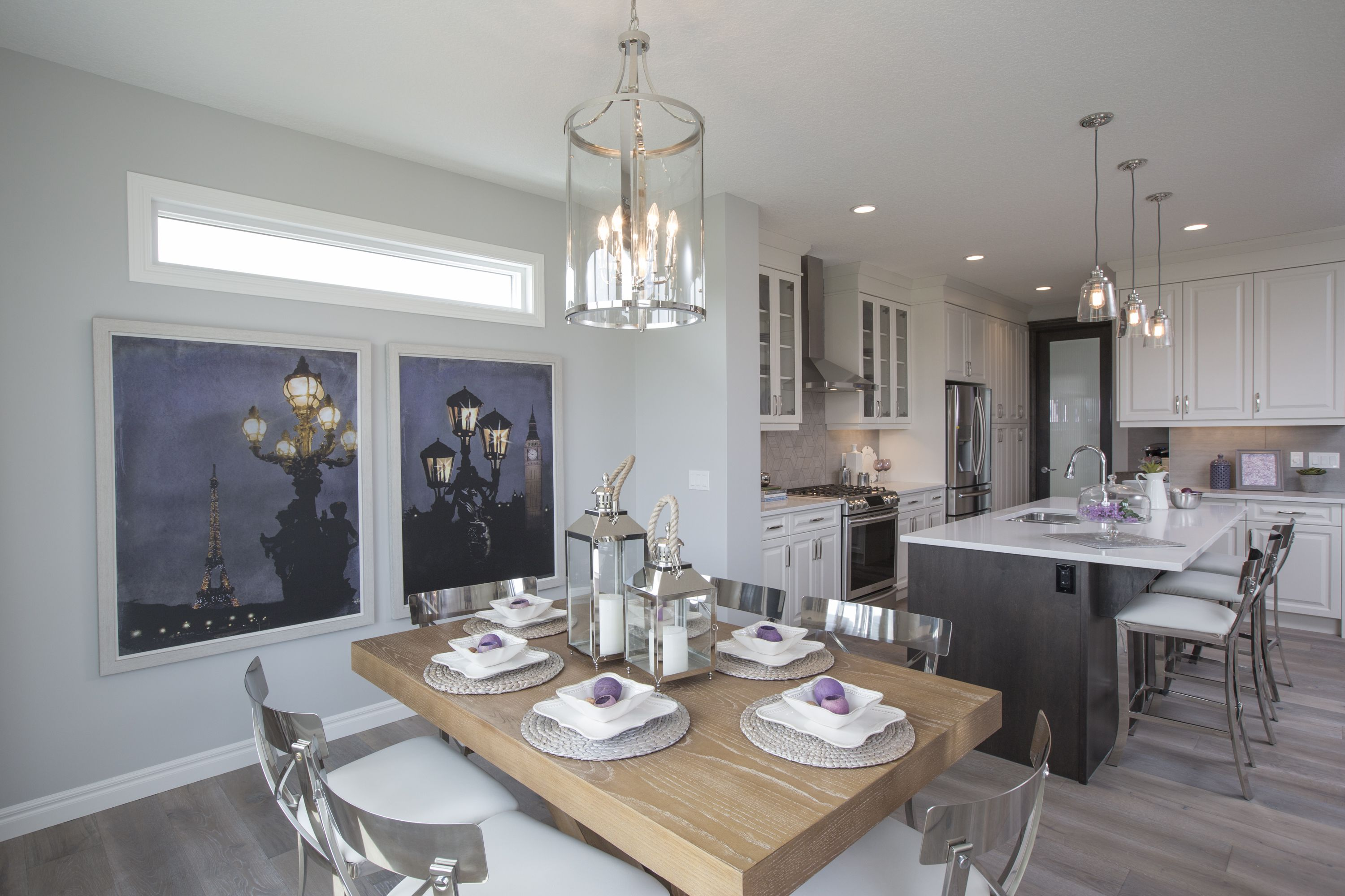 The Kennedy III Dining Room In Legacy Trico Homes Check Out New