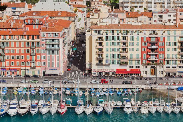Nice Harbor, Côte d'Azur, France • photographed by Éole Wind