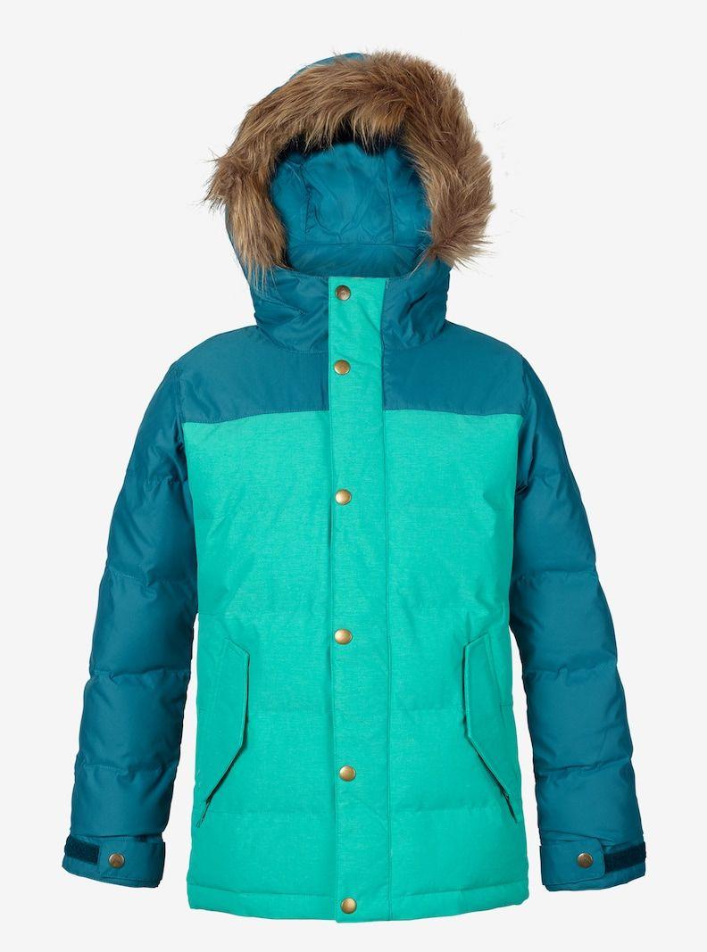 5fc7e014d551 Girls  Burton Traverse Jacket shown in Everglade   Jaded