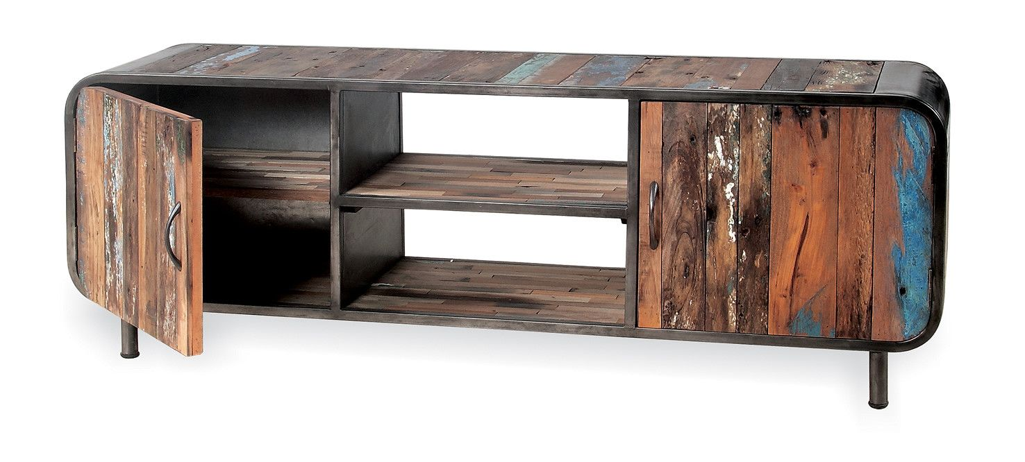 Good Drift Wood Tv Stand