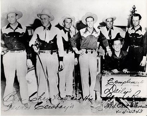 Image result for Ben Christian & His Texas Cowboys