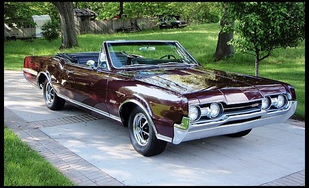 1967 oldsmobile 442 convertible 400 350 hp automatic vintage rh pinterest com