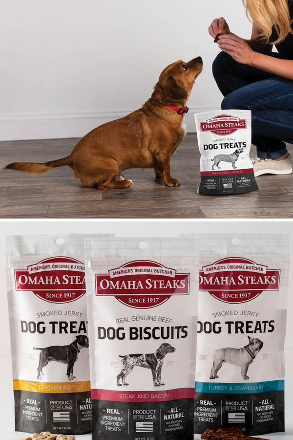 10 Reasons To Give Your Dog Omaha Steaks Dog Treats Omaha Steaks Dog Treats Premium Dog Treats Best Treats For Dogs