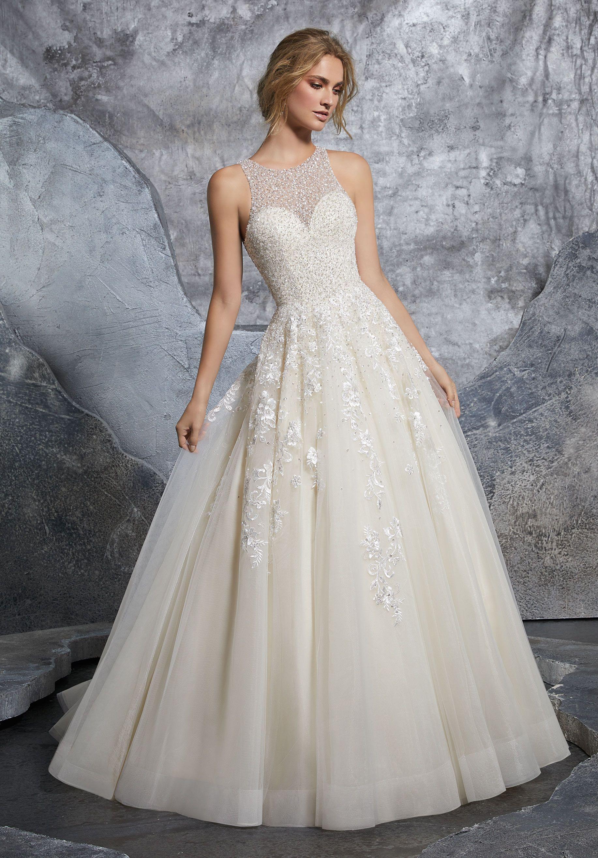 Vestido De Encaje De Arriba Colecciones Novia 2018 En 2019