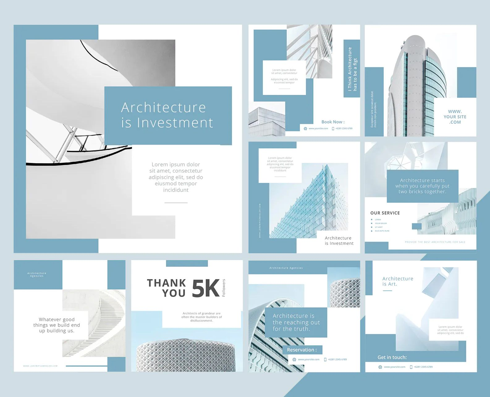 Architecture Social Media Posts Templates Social Media Post Social Media Architecture