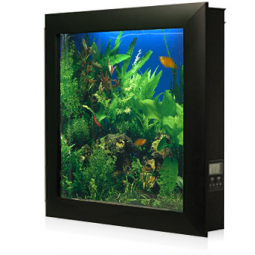 Bring any room to life with Aquavista 500 Wall Mounted Aquarium that hangs  like a framed