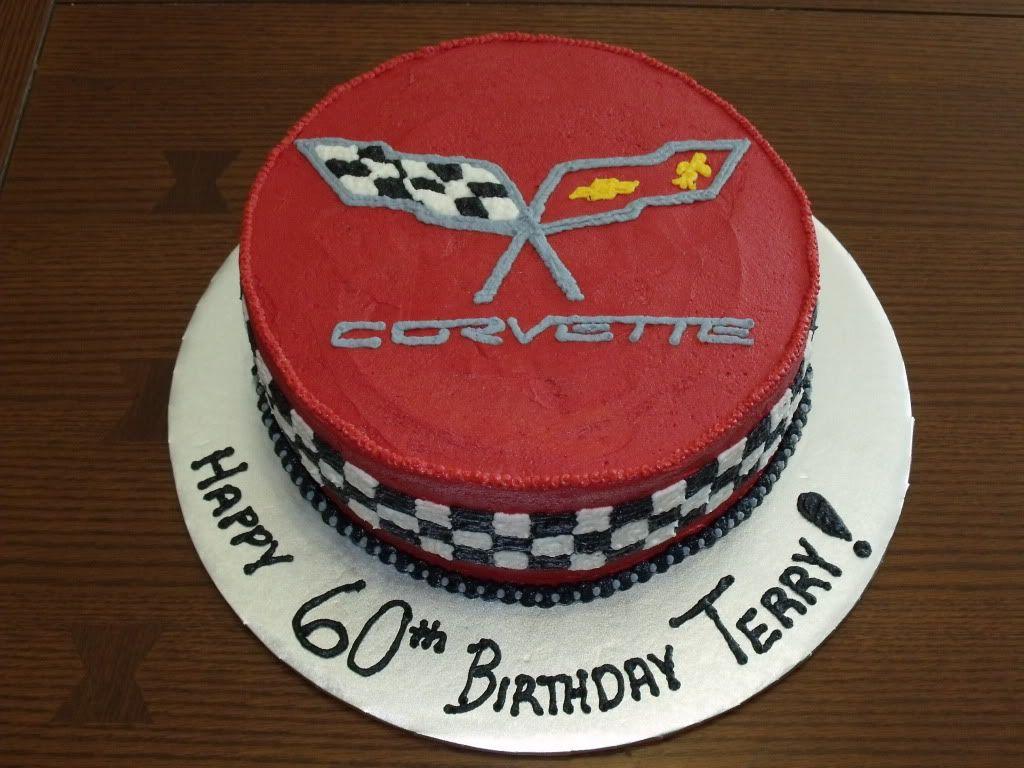 corvette cake Corvette Birthday Cake photo CorvetteCake4jpg