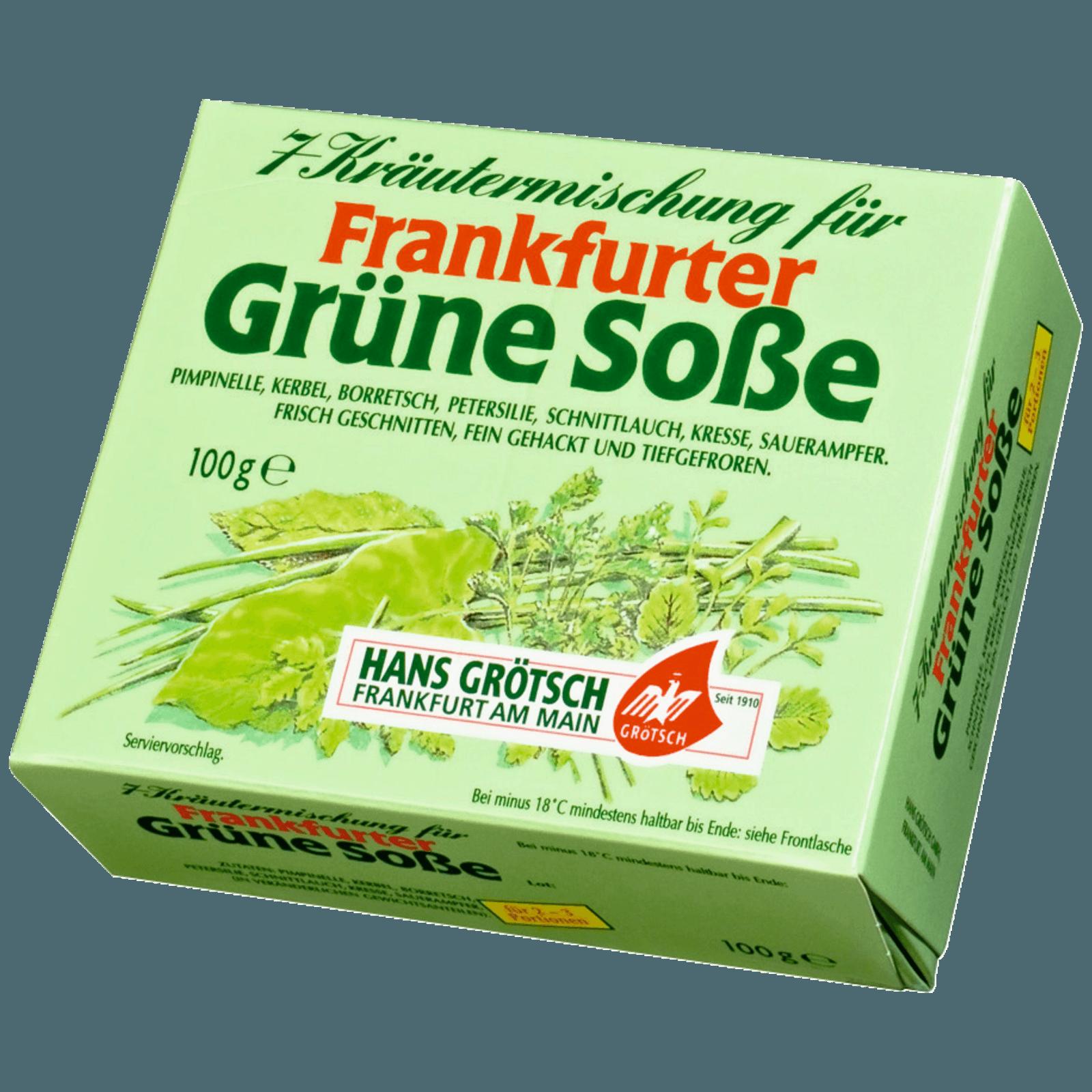 Hans Grotsch Frankfurter Grune Sosse 100g Bei Rewe Online Bestellen Frankfurter Grune Sosse Grune Sosse Rewe