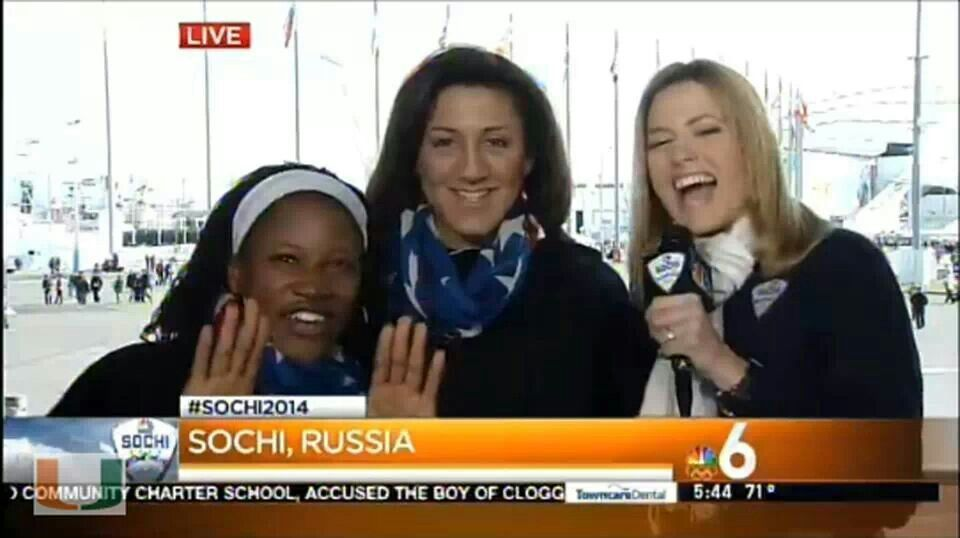 Its even all about the U, in Sochi....