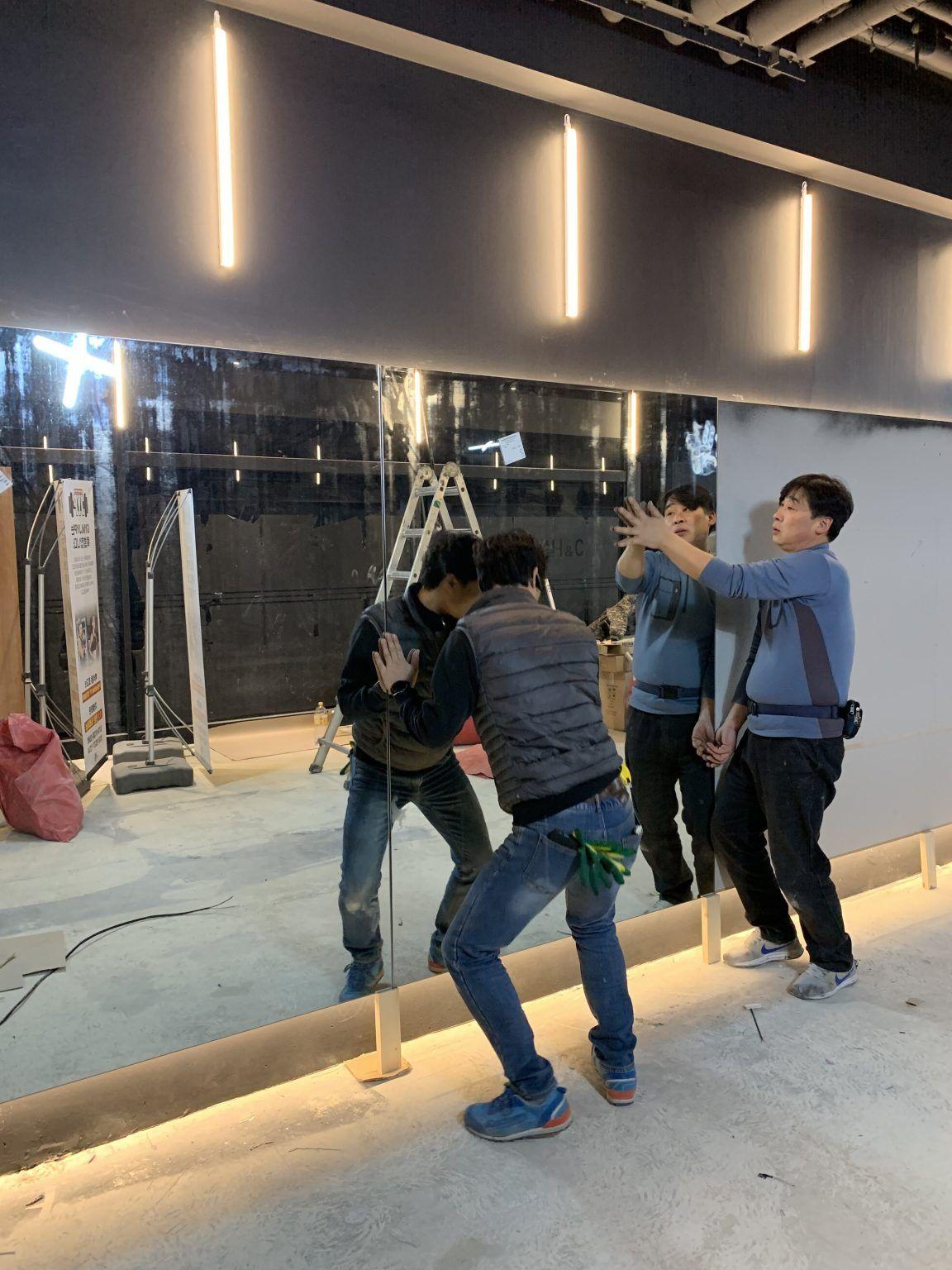 일산 소형 pt피티샵 헬스장인테리어 휘트니스 클럽공사 완료 – 사무실인테리어 공사 전문업체