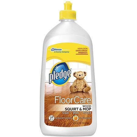 Walmart Pledge Floorcare Wood Squirt Mop Cleaner Only 097