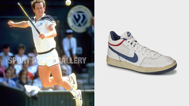 save off caf26 bb6a5 John McEnroe Wins Fourth Wimbledon Mens Singles Title in the Nike  Challenge Court Mid.