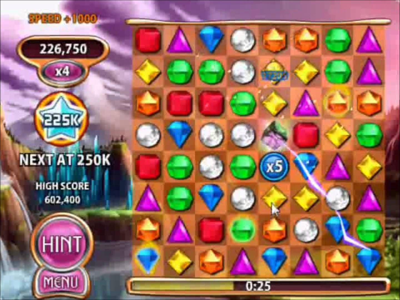Bejeweled Blitz Elite technique Slow motion Play free