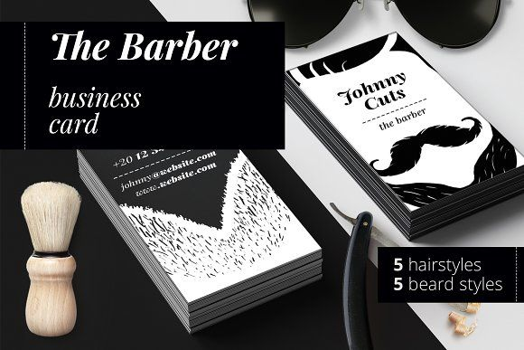 The barber business cards templates by felicitys creative shop on the barber business cards templates by felicitys creative shop on creativemarket cheaphphosting Image collections