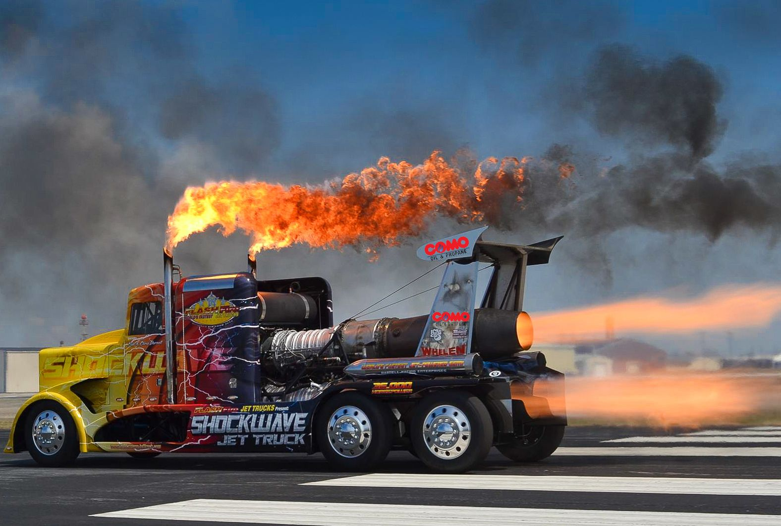 Warm Up With This Picture Of A Jet Truck With Images Custom