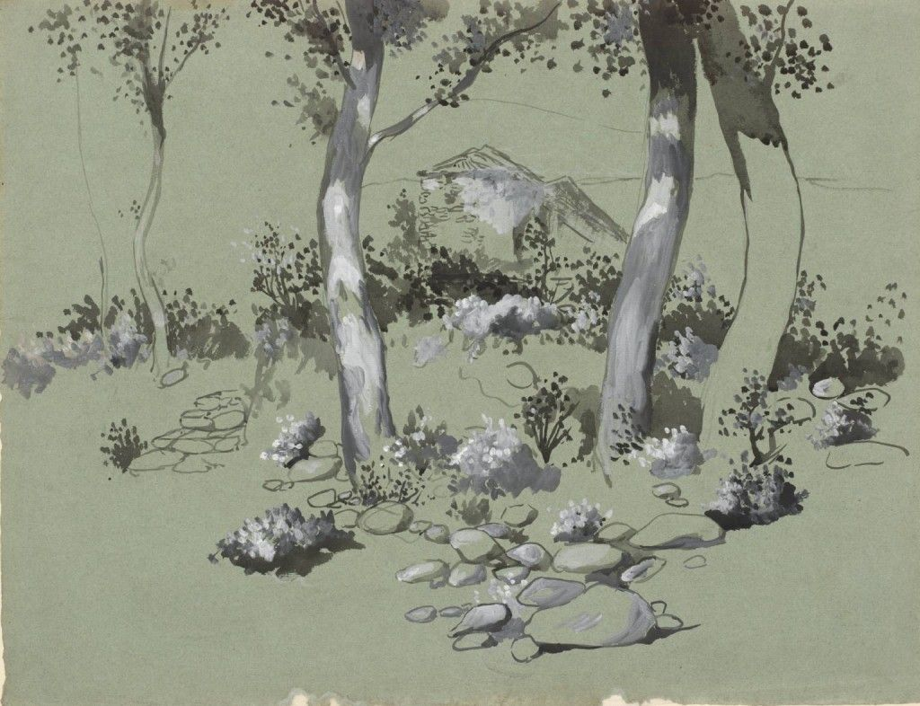 Joan González - Four Trees, c.1905