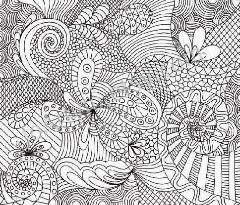 abstract animal coloring pagesprintable adult coloring pages