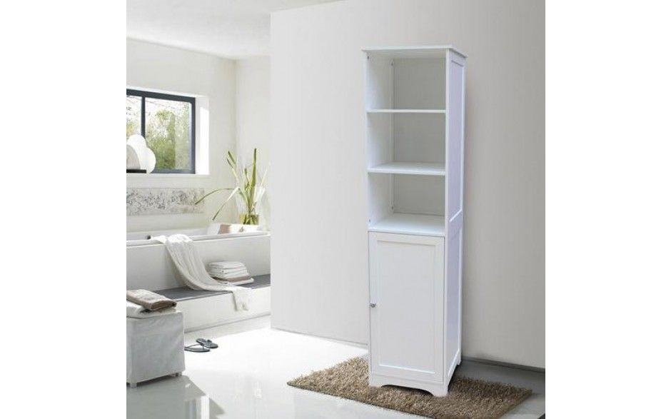 Free Standing Tall Bathroom Cabinet Cupboard Shelving Storage Unit White Bathroom Storage Units White Bathroom Storage Bathroom Furniture Storage