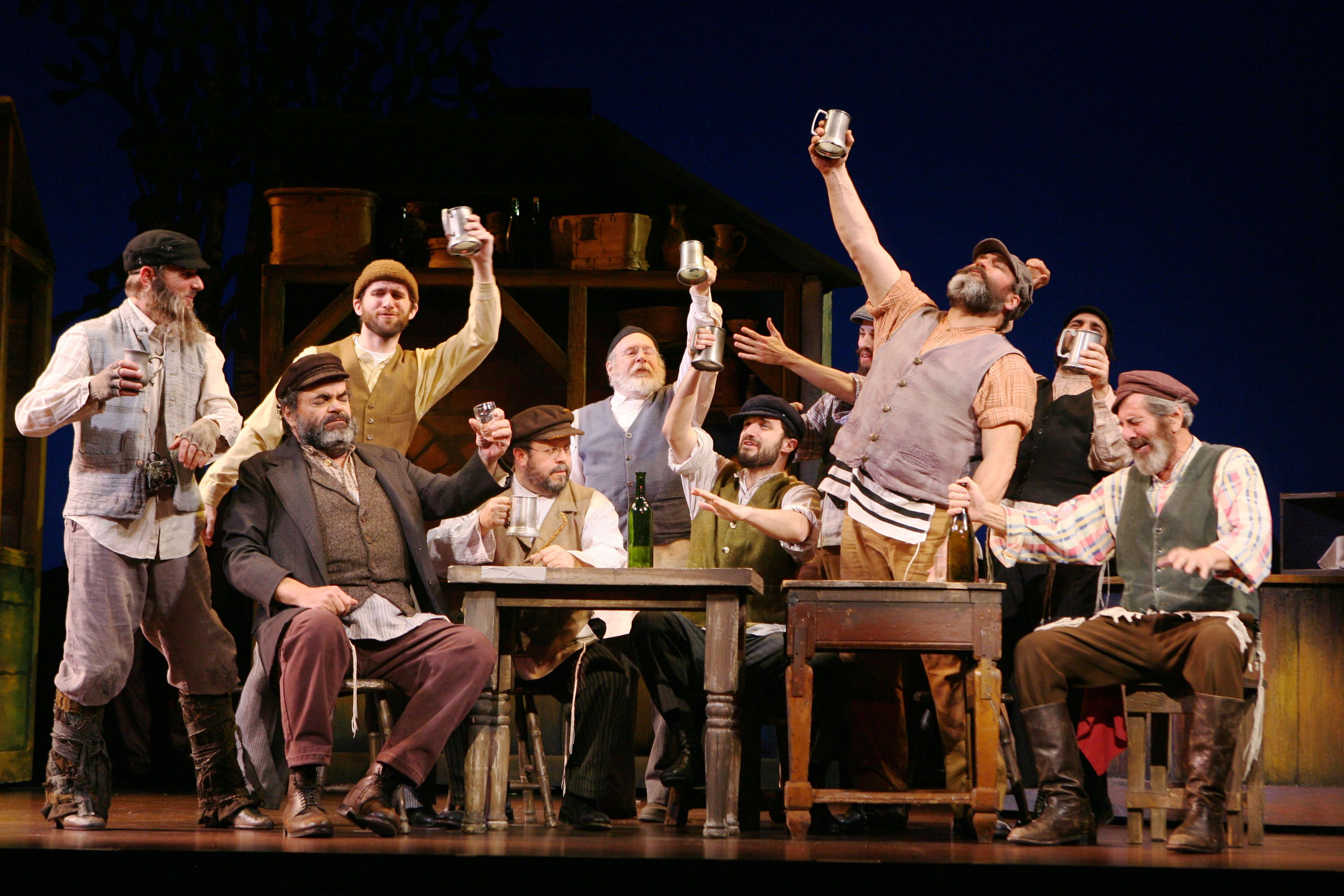 Fiddler On The Roof   Broadway Stage Version.