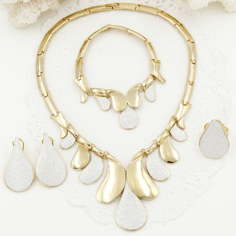 2017 New Fashion Italian Sticker Design Jewelry Sets Dubai Women ...