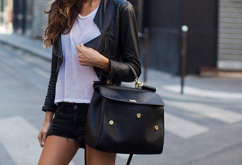 bag, black, fashion, style