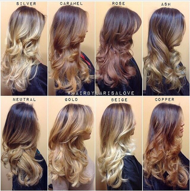 A Great Representation Of What You Should Expect When It Comes To Tonal Value Of Hair Credit To Instagram User Larisadoll Hair Styles Long Hair Styles Ombre Hair