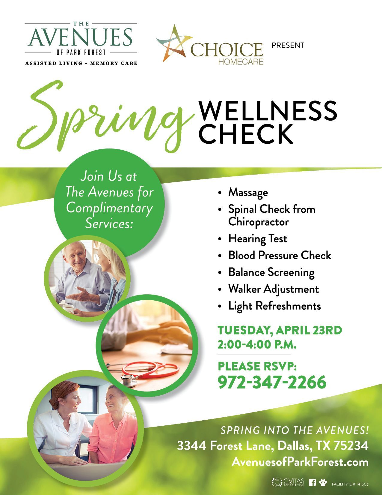Pin on The Avenues of Park Forest Assisted Living and
