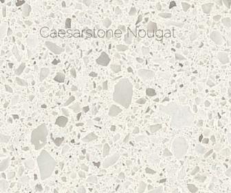The quartz I chose was Caesarstone Nougat  Again – it's not