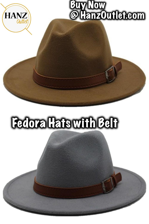 423c5c85d5a65f Special Felt Hat Men Fedora Hats with Belt Women Vintage Trilby Caps Wool  Fedora Warm Jazz Hat #FeltHats #MenHats #HatswithBelt #Caps #JazzHat  #HanzOutlet