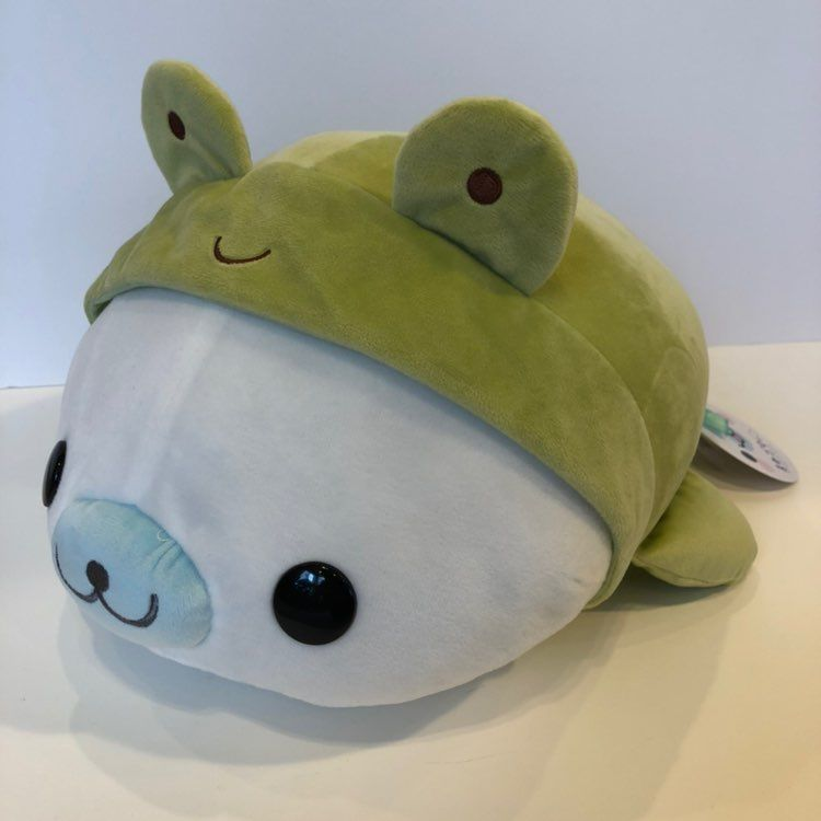 Mamegoma The Seal 16inch In Frog Costume NWT