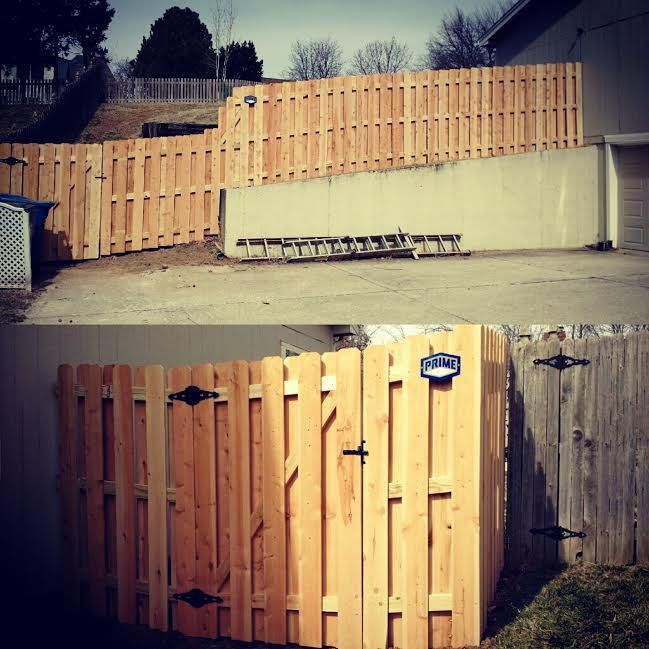 6 Shadow Box Privacy Fence Prime Fence Company Llc Kansas City Fencing Companies Fence Kansas City