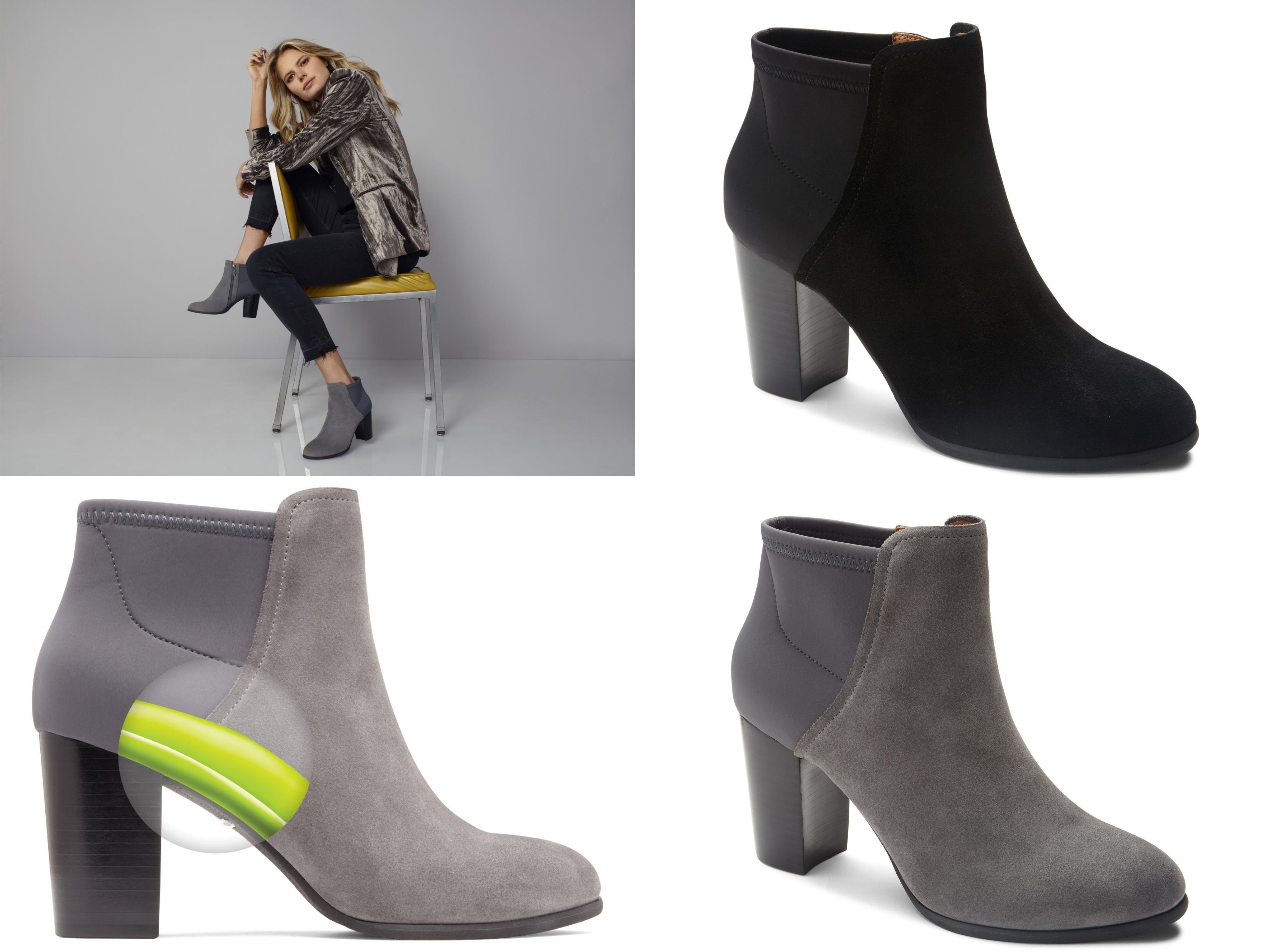 ead645c464b Vionic Perk Whitney - High Heeled Ankle Boot Black - 7 Medium ...