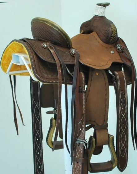 Coolhorse Sold New 10 Scott Thomas Saddlery Jr Ranch Saddle Saddle Horse Tack Buckaroo