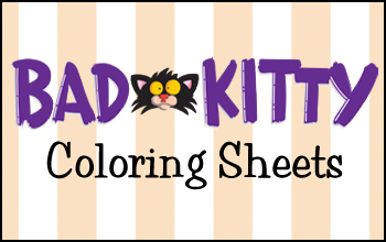Activity Bad Kitty Books Bad Cats Kitty Coloring Book Activities