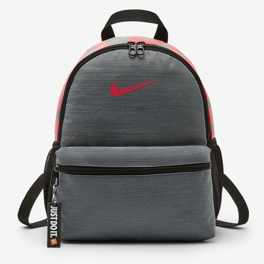 5cf47bd505bc Nike Brasilia Kids  School Backpack (Mini) w  Just Do It Keychain  Nike   MiniBackpack  backtoschool  kids  backpack  backpacks  school  college   boys  girls ...
