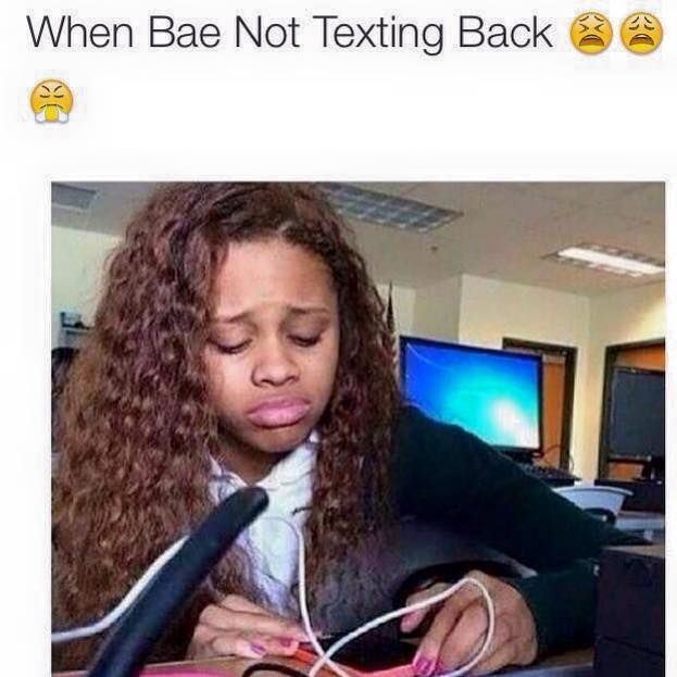 Lol Me I Just Mope Around For Hours And When He Finally Does I Get Mad At Him Yet I Text Him Back Right Away All Happy My Logic Text Back