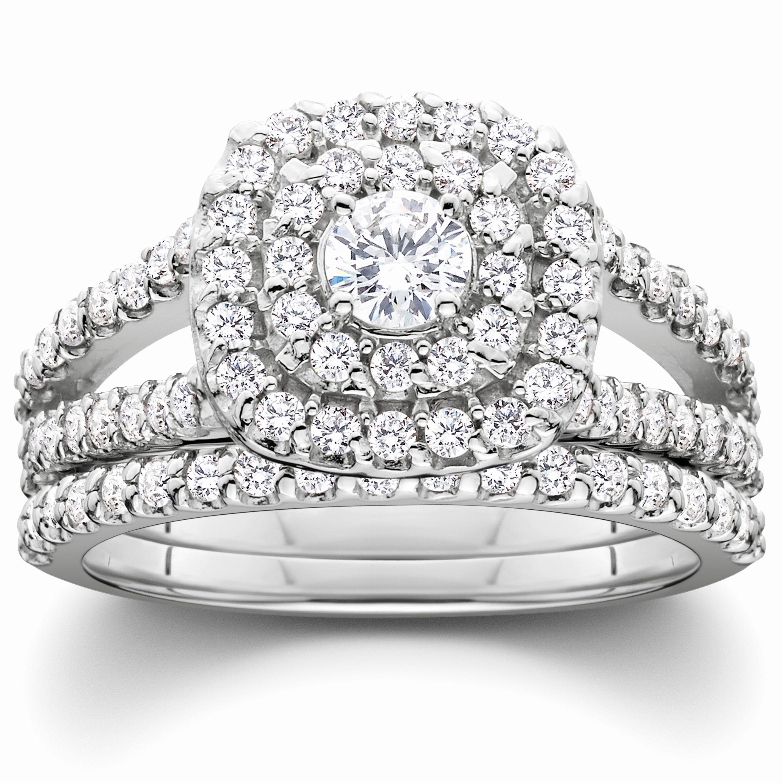 30 Beautiful Jared Wedding Rings White Gold Wedding Ring Set Diamond Bridal Sets Wedding Ring Halo Cushion